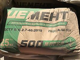 Цемент Полимин ПЦ II/А-Ш-500, 25 кг (меш.)