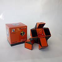 Змейка Рубика Shengshou Wind черно-красная (улучшенный, пружинный механизм)