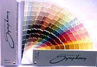 Услуга колеровки краски по цветовой палитре Symphony (внутри палитра для выбора цвета)