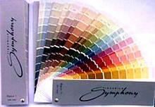 Послуга колеровки фарби на палітрі Symphony (всередині палітра для вибору кольору)