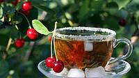 """Чай из листа дикой вишни """"Спелая вишня"""" (вручную  ферментирован, черный, гранулы, 100 г), фото 1"""