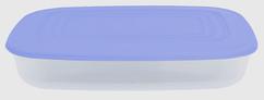 Контейнер прямоугольный 2,5 л голубой