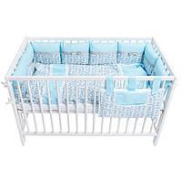 """Постельный комплект для новорожденных """"Blue mosaic"""""""