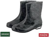 Ботинки женские резиновые (водостойкая обувь) BTDKBLOOMI BS