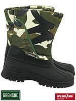 Утепленные ботинки (сапоги зимные Польша) BSNOW-CAMO