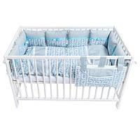 """Постельный комплект для новорожденных """"Grey mosaic"""""""