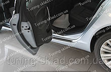 Накладки на пороги Opel Insignia 1 (накладки порогов Опель Инсигния)
