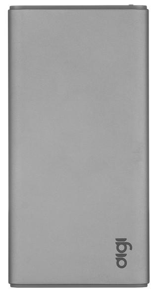 Портативное зарядное устройство DiGi LP-95 - 5000 mAh Li-pol Space Gray  (внешняя зарядка для телефона)