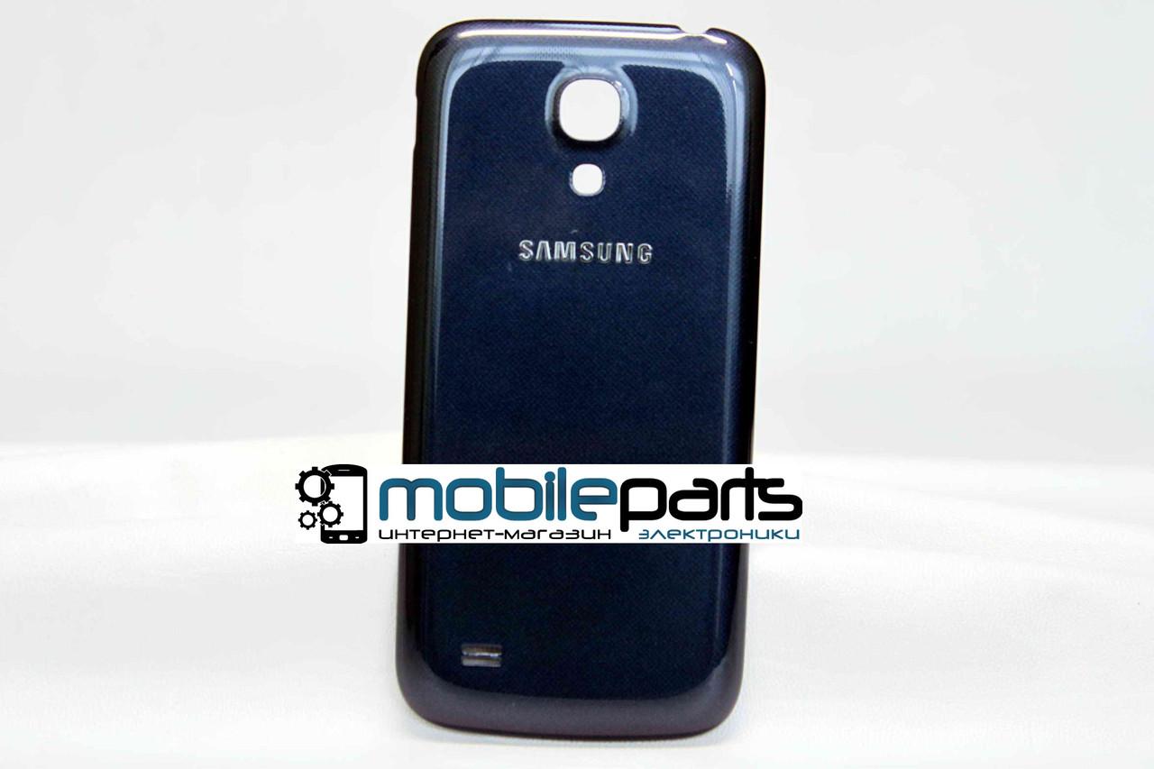 Задняя панель корпуса (крышка) для Samsung Galaxy S4 Mini GT-I9190 (Качество ААА) (Синяя)