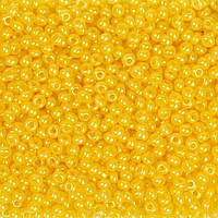 Бисер №10 Preciosa (Чехия), 17386, 10 грамм, Цвет: Жёлтый