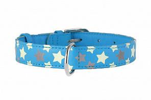 CoLLar Glamour - шкіряний нашийник для собак (довжина 30-39 см, діаметр - 20мм) (3586)