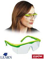 Противоосколочные очки защитные для учеников GOG-LEARN TSE