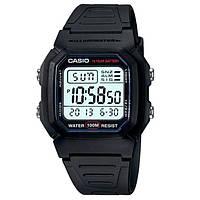 Мужские часы Casio W800H-1AV Касио водонепроницаемые японские часы