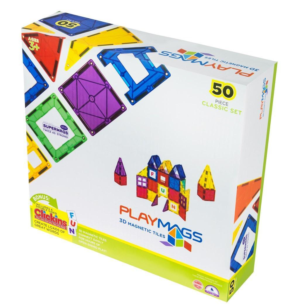 Конструктор Playmags магнитный набор 50 эл. PM152