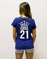 Свитшоты, толстовки і футболки з ім'ям, прізвищем і цифрою.