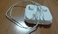 Наушники гарнитура Apple EarPods MD827 копия класса А