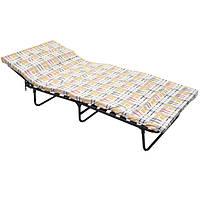 Раскладушка кровать мягкая с ламелями