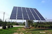 Трекеры для солнечных панелей - на 40% больше генерации !