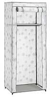 Складной тканевый шкаф на металлическом каркасе 150 см
