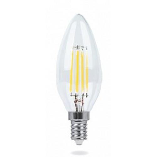 Светодиодная лампочка LEDEX 2W E14 4000К PREMIUM (Свеча FILAMENT)