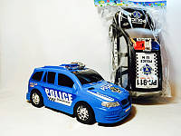 Игрушечная инерционная  машина Джип138-02 -  инерционная, 34см, полиция, 2 цвета,