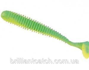 Силикон Nomura Gator 75мм 2,5гр. цвет-014 (chart green) 10шт