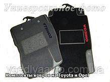 Ворсовые коврики HONDA CR-V с 2002 г. МКП (5дв)