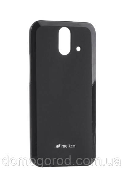 Чехол Melkco HTC One E8 Poly Jacket TPU Black (O2E8ACTULT2BKMT)