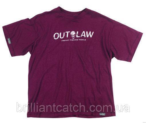 Футболка Balzer Outlaw бордова XXL