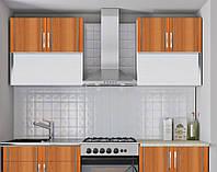 Кухонный гарнитур модульный 1,4 метра ольха (кухонный комплект мебели)