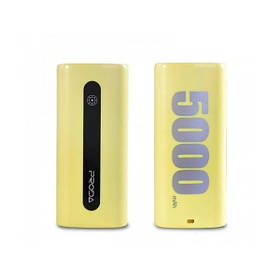 Power Bank Remax E5 5000 mAh Yellow