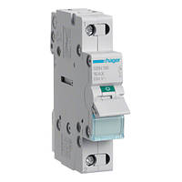 Выключатель нагрузки Hager, 1-полюсный 16А/230В, 1м