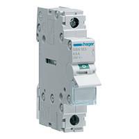 Выключатель нагрузки Hager, 1-полюсный 63А/230В, 1м