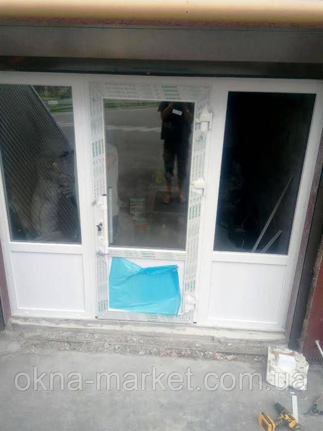 Входные металлопластиковые двери Киев по доступной цене