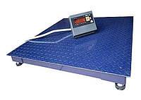 Электронные платформенные весы для склада ЗЕВС-Стандарт ВПЕ-4 (1500х1500 мм), НПВ: 500 кг