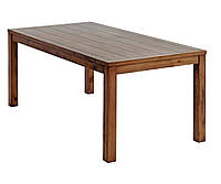 Стол обеденный с раскладными крыльями по бокам  90x180/270см (массив сосны)