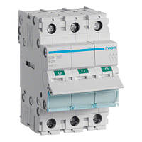 Выключатель нагрузки Hager, 3-полюсный 100А/400В, 3м