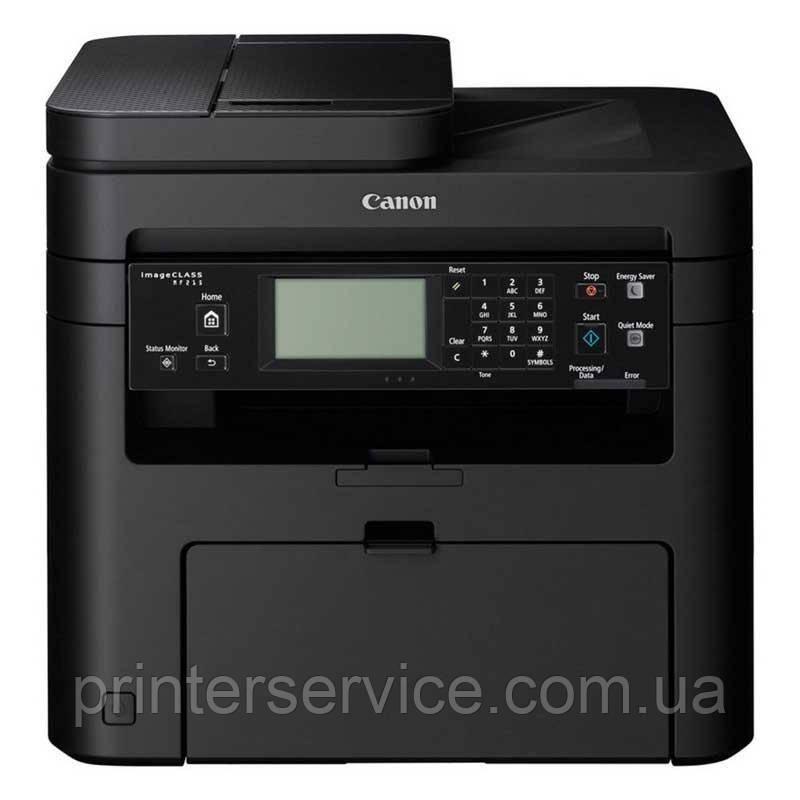 Черно-белое МФУ Canon i-SENSYS MF237w МФУ с Wi-Fi, fax и ADF