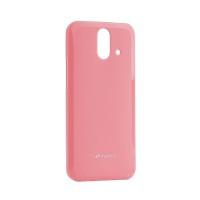 Чехол Melkco HTC One E8 Poly Jacket TPU Pink (6174633)