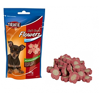Лакомства для собак TRIXIE FLOWERS LIGHT c ягненком и птицей, 75гр