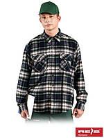 Осеннее – зимняя рубашка из фланели высокого качества KFLUX Z