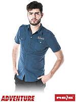 Хлопчатобумажная рубашка с коротким рукавом модного фасона KW-YOUNG G