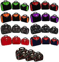 Дорожная сумка кейс 773, набор 3 штуки