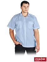 Рубашка парадная с короткими рукавами и с погонами на плечах KWSKR JN