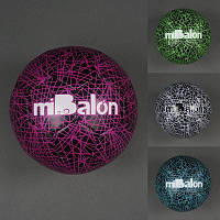 Мяч футбольный 772-438 (50) PU, 400-420 грамм, баллон с ниткой, 4 цвета