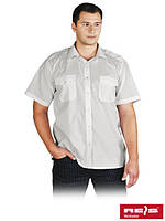 Рубашка парадная с короткими рукавами и с погонами на плечах KWSKR W