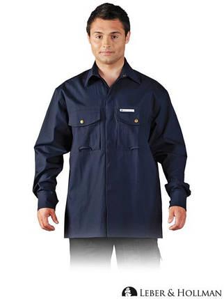 Рубашка хлопчатобумажная с длинным рукавом LH-SHIFER_L G, фото 2