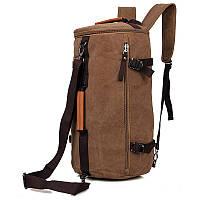 "Сумка через плече рюкзак ""Трансформер торба"" брезент"