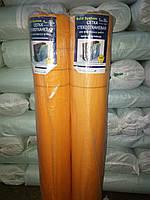 Стеклосетка фасадная армирующая 5х5 мм 160 оранжевая