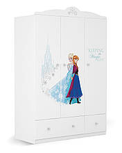 """Шкаф детский трехстворчатый 135 """"Frozen"""", Meblik (Польша)"""